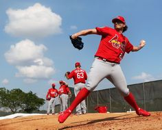 St. Louis Cardinals spring training 2017. New guy-Cecil