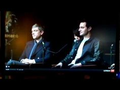 Richard Armitage and Martin Freeman talk about The Hobbit