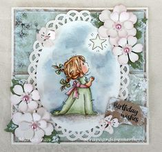 Scrapcards by Marlies Birthday Wishes, I Card, Decorative Plates, Lily, Feminine, Frame, Home Decor, Women's, Picture Frame