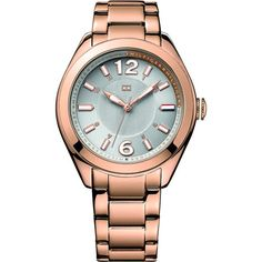 Tommy Hilfiger - Ladies Grey and Rose Gold Maxi Watch - 1781369 - RRP: £145.00 - Online Price: £72.50