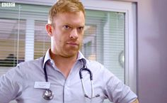 Casualty: Dylan in charge Hot Men, Hot Guys, Bbc Casualty, Holby City, Bbc Drama, Medical Drama, Serpent, Dramas, Actors & Actresses