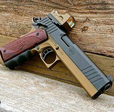 STL International, pistol, sights, guns, weapons, self defense, protection, 2nd amendment, America, firearms, munitions #guns #weapons