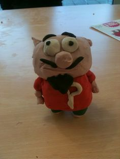 #PigbyAndFriends my daughter's clay creation