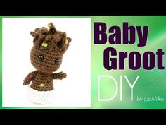 Baby Groot häkeln *Do it Yourself* Amigurumi | Marvel - YouTube
