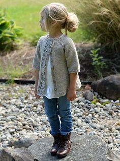Cove Cardigan pattern by Heidi May