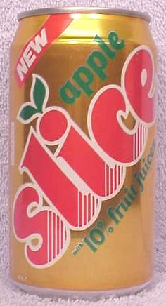 Apple Slice Soda- I totally forgot about theses!  I used to drink them all the time!