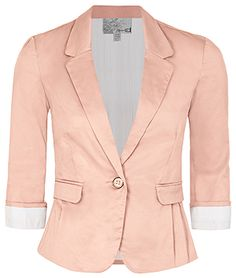 a nice spring blazer Cute Blazers, Cool Style, My Style, Winter Springs, Work Fashion, Suit Jacket, Summer Winter, Jackets, How To Wear