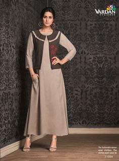 VARDAN D.NO.-21004 RATE : 651 - MIRAAZ VOL-1 BY VARDAN DESIGNER  VARDAN 21001 TO 21008 SERIES  STYLISH COLORFUL FANCY BEAUTIFUL CASUAL WEAR & ETHNIC WEAR HEAVY RAYON LONG KURTIS AT WHOLESALE PRICE AT DSTYLE ICON FASHION CONTACT: +917698955723 - DStyle Icon Fashion
