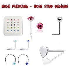 Bent Nose, Nose Screw, Wholesale Silver Jewelry, Nose Jewelry, Nose Stud, Studs, Type, Pattern, Design