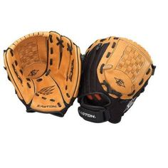 Easton Z-Flex 10.5 inch Right Hand Youth Ball Glove, Brown