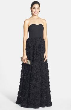 Aidan by Aidan Mattox Chiffon Ballgown available at #Nordstrom
