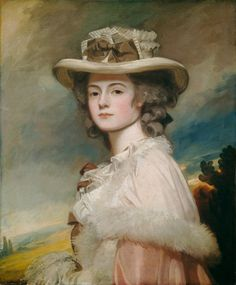 1782-1784 Mrs Davies Davenport, Charlotte Sneyd, by George Romney (National Gallery of Art - Washington, DC, USA) | Grand Ladies | gogm
