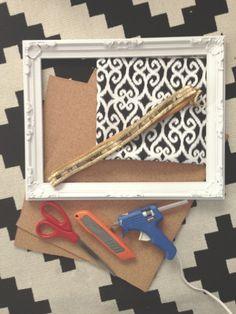 Binkies and Blondes: DIY bulletin board