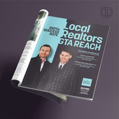 We're working with the Greater Toronto Area's The Realty Brothers to develop a visual language for their unique real estate marketing strategies.   #R1Creative #RealEstateMarketing #theRealtyBrothers #StepYourBrandUp