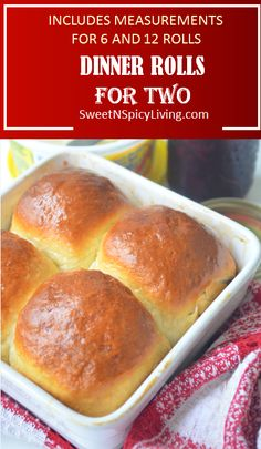 This homemade dinner roll is the best thing that could happen in your dinner table. Soft, fluffy and can be eaten on its own without even any spread. A perfect portion for sharing for two so nothing goes to waste. This dinner roll uses a very simple bread Recipe For 2, Recipe For Bread, Sweet Bread Dough Recipe, Simple Bread Recipe, Bun Dough Recipe, Recipes For Two, Roll Recipe, Small Batch Baking, Homemade Dinner Rolls