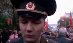 Офицер РФ записал видеообращение: армия должна защищать народ, а не фашистов во главе с Путиным