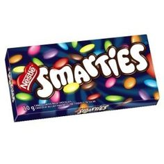 I miss South African smarties...so much better than M&M's!