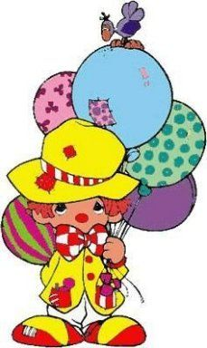 quenalbertini: Little clown Precious Moments, Clown Horror, Send In The Clowns, Clowning Around, Programming For Kids, Scrapbook Embellishments, Inspiration For Kids, Digital Stamps, Kids Cards