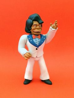 """neca 25 simpsons guest star figure: 5"""" james brown (2014) 