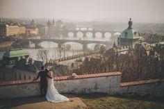The beautiful overlook in Prague