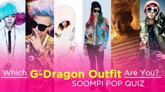 Quiz: Which G-Dragon Outfit Are You? My answer: You Are Serial Killer G-Dragon O.O