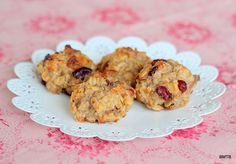 Baking Makes Things Better: Lunchbox Bakes – Banana Cranberry Cookies Sweet Potato And Avocado Recipe, Avocado Recipes, Gluten Free Baking, Gluten Free Desserts, Cookie Desserts, Cookies Without Eggs, Cranberry Cookies, Baked Banana, Tray Bakes