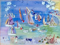 Grand Colorist ... Enchanting ... Raoul Dufy