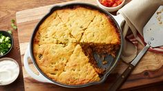 This Easy Tamale Pie will make a great weeknight meal. Ground beef, enchilada sauce, green chiles, and Cheddar topped with corn muffin mix.