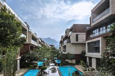 NEXT architects surrounds housing complex with water: http://www.playmagazine.info/next-architects-surrounds-housing-complex-with-water/