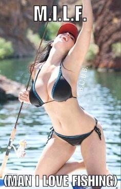 Denise Milani Gone Fishing! Bikini Fishing, Hot Girls, Mädchen In Bikinis, Bikini Swimwear, Up Girl, Hot Bikini, Black Bikini, Mannequins, Country Girls