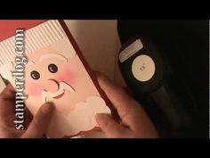 Stampin' Up! Popcorn Santa - YouTube