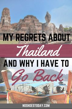 Thailand is an amazing country, only I couldn't see it while I was there. Find out what happened and why I absolutely have to go back.