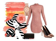 """Just Peachy"" by pensacolaparisian on Polyvore featuring FOSSIL, Alexander Wang and Vera Bradley"