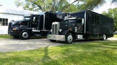 Old Pete... New KW... both are big and black. ..  both are pretty cool
