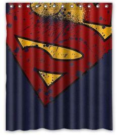 Superman Bathroom Accessory Set Trash Can Soap Holder By Vslsigns Everything