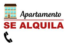 Se alquila apartamento cartel para imprimir #SeAlquila #Departamento #Apartamento