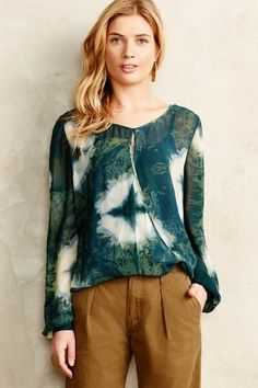 Draped Seren Top - anthropologie.com