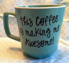 Awesomeness | What's making YOU awesome this morning? From Peg Fitzpatrick - Google+ For more #awesome #CoffeeQuotes visit my Funny Coffee Quotes board. Thanks.