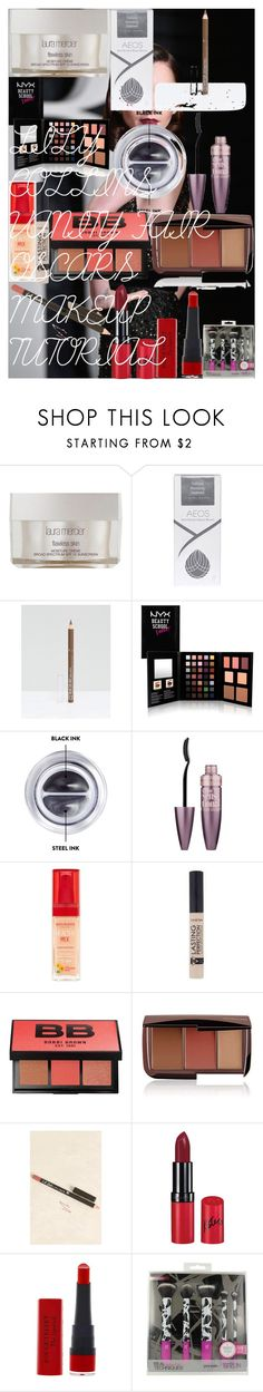 """LILY COLLINS VANITY FAIR OSCARS MAKEUP TUTORIAL"" by oroartye-1 on Polyvore featuring beauty, Laura Mercier, AEOS, Rimmel, NYX, Bobbi Brown Cosmetics, Maybelline, Bourjois and Hourglass Cosmetics"