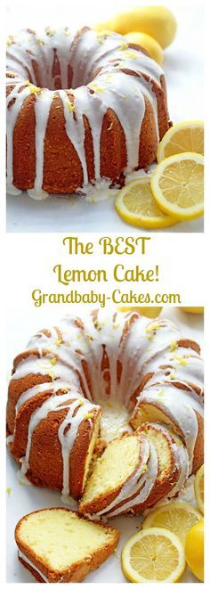 The Best Lemon Cake Recipe on the internet (The Ultimate Lemon Pound Cake with a SECRET ingredient!) - Grandbaby Cakes / Grandbaby-Cakes.com