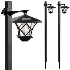 Lampadaire solaire 2 positions : Shopix.fr > 1 acheté, 1 offert, soit 50€ les deux
