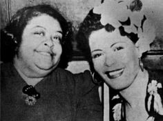 Picture of Billie Holiday and her mother