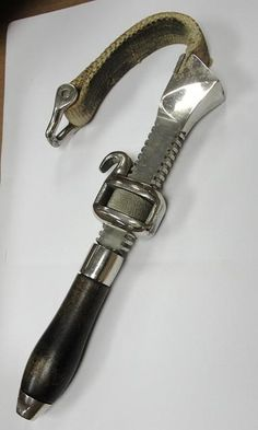 a Canvas Strap Wrench for use on enameled pipe