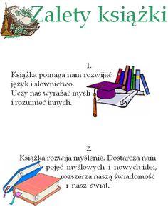 Polish Language, Motto, Infographic, Education, Reading, Children, School, Books, Aga