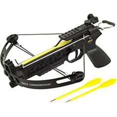 A pistol crossbow is a great device to use if you're interested in target practice or game hunting. Just explore Top 10 pistol crossbows and choose yours! Crossbow Targets, Crossbow Bolts, Diy Crossbow, Crossbow Arrows, Crossbow Hunting, Self Defense Weapons, Survival Weapons, Tactical Survival, Weapons Guns
