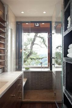 Bathroom Small Narrow Bathrooms Design Ideas, Pictures, Remodel, and Decor