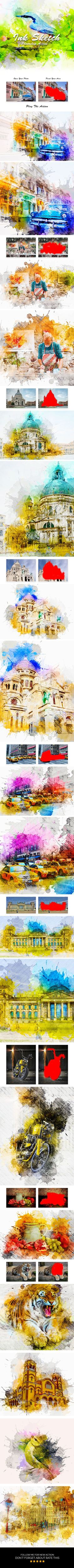 Top Bhopal Photographer - Amit Nimade - an International award winning photographer recommanded to check it Ink Sketch #Photoshop #Action - Photo Effects Acti…