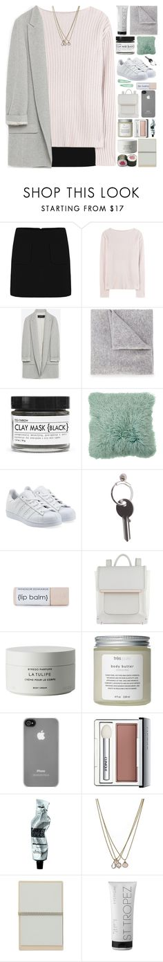 """You sound like a song"" by end-of-the-day ❤ liked on Polyvore featuring Jardin des Orangers, Zara, Lucien Pellat-Finet, Fig+Yarrow, adidas Originals, Maison Margiela, ALDO, Byredo, Très Pure and Incase"
