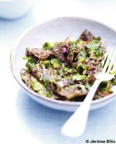 Salade thaïe pour 6 personnes  / recette minceur / healthy food