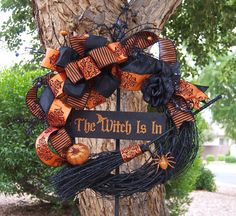 Ships 13 days The Witch Is In Halloween by SignsStuffnThings